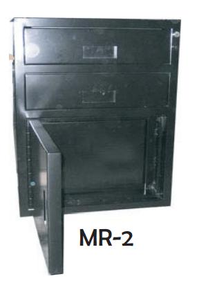 coffre avec 2 tiroirs caisse